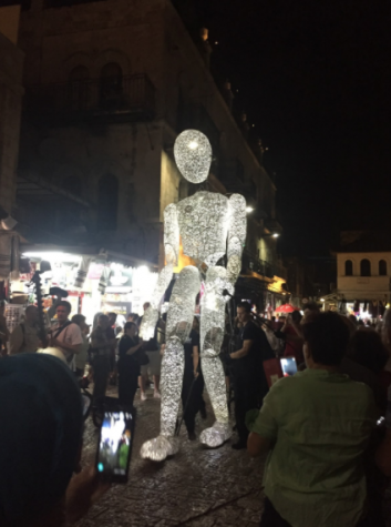 Festival of Light in Jerusalem's Old City
