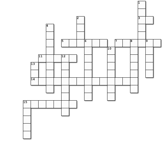 Crossword Puzzle