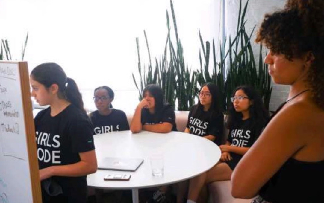 Girls Who Code: Challenging Stereotypes