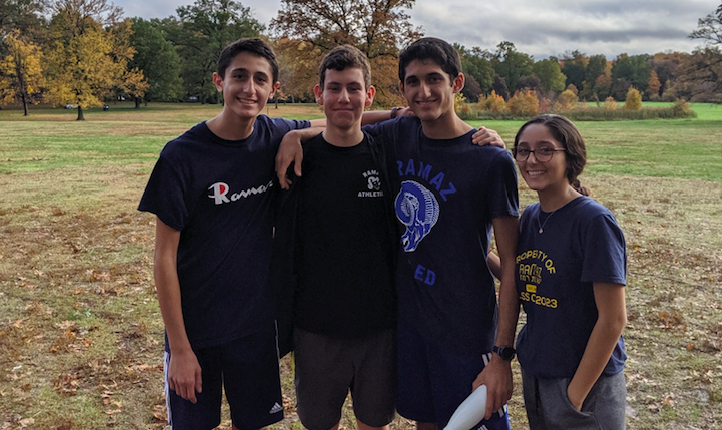 Students+at+a+cross-country+race+in+October.