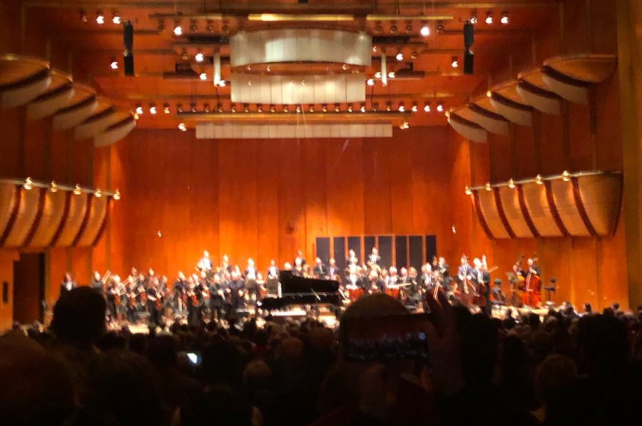 Sanders Foundation Brings Ramaz Students to the New York Philharmonic