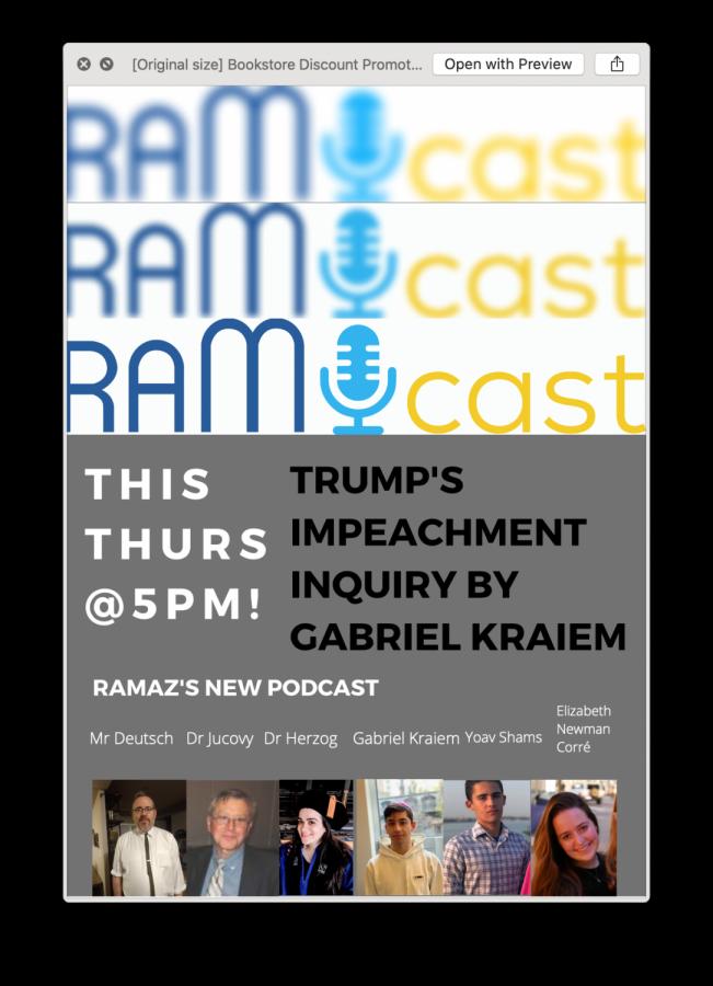 Ramcast: The New Ramaz Podcast