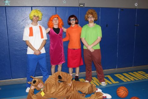 The Marks as Mystery Incorporated.