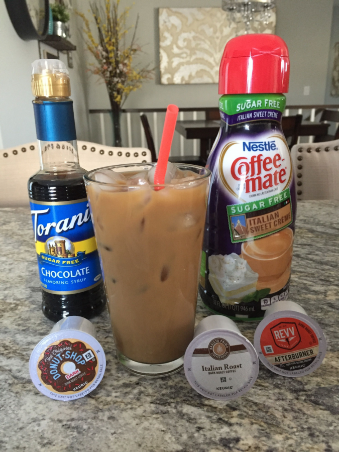 Iced Coffee in the Lunchroom