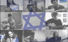The Guitar Ensemble performing Cuado El Rey/ Ve' David on Yom Haatzmaut.