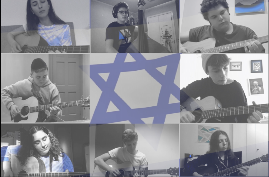 The+Guitar+Ensemble+performing+Cuado+El+Rey%2F+Ve%27+David+on+Yom+Haatzmaut.