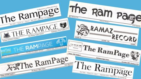 Rampage Mastheads, 1961-Present
