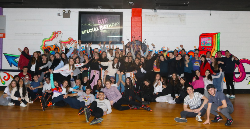 Class+of+2020+at+Senior+Shabbaton