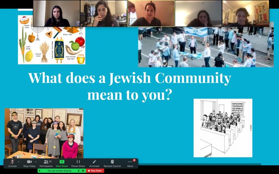 The JDC Club continues their chesed activities over Zoom.