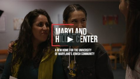 Virtual Slides and Videos like this video about the Hillel at Maryland University were shown at the virtual college meetings.