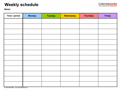 Goodbye to the Rotating Schedule